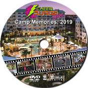 "CheerSurge 2019 ""Camp Memories"" Slideshow DVD"